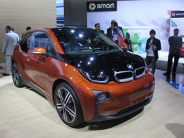 BMW's 2014 i3 five-door hatchback offers a range of between 80 and 100 miles. It can be charged...