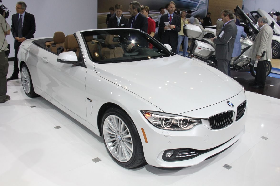 BMW's 4 Series Convertible coupe will be offered in 428i and 435i with a retractable hardtop.