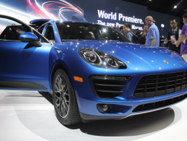 The 2014 Porsche Macan S offers a twin-turbo 3.0L V-6 and will retail for $49,900.