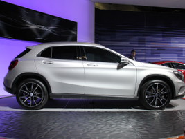 The GLA250 gives Mercedes-Benz its first compact SUV.