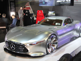 """The Mercedes-Benz Vision Grand Turismo concept will be included in the upcoming """"Gran Turismo 6""""..."""