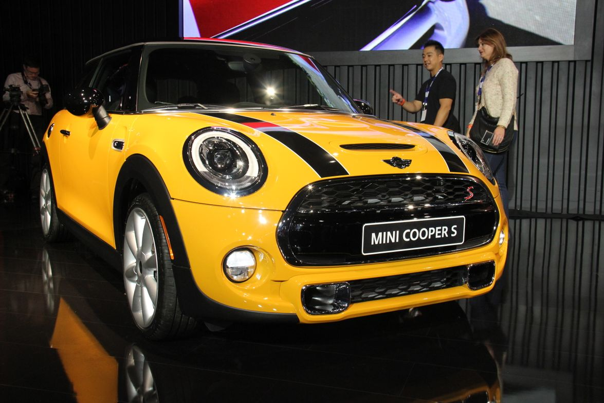 The new 2014 MINI Cooper S features a four-cylinder gasoline engine and body styling updates.