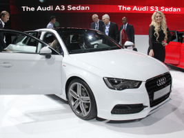 Audi's high-performance S3 is part of the all-new A3 lineup for 2015.