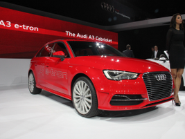 The Audi A3 Sportback e-Tron gasoline electric plug-in hybrid will be released in early 2015.