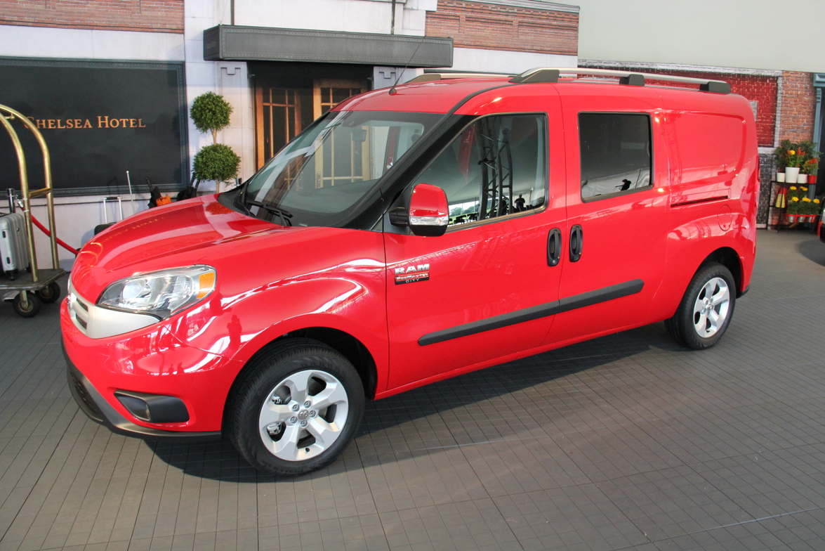 The ProMaster City five-passenger wagon was adopted for paratransit use.