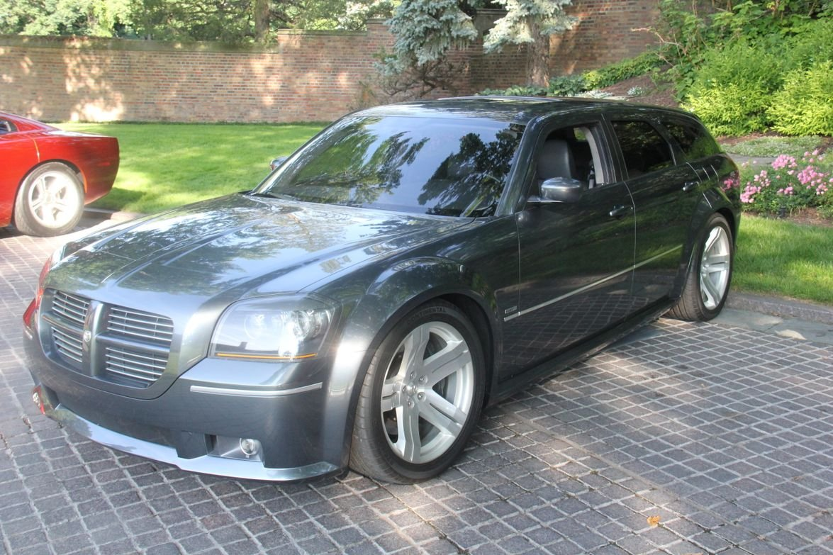 The 2003 Dodge Magnum Concept led to a production version of the wagon from 2004-2008, including...