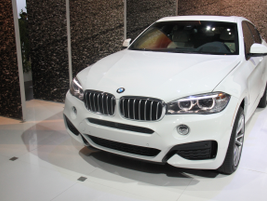 BMW's redesigned X6 luxury SUV