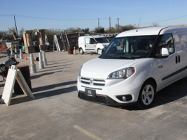 Members of the media drove the Ram ProMaster City at a ride-and-drive event in Austin, Texas.