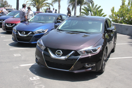 2016 Nissan Maxima Ride and Drive