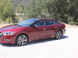 The Maxima will compete will other large and full-size sedans.