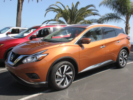 The Murano (Plat AWD shown) was redesigned for the 2015-MY.