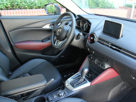 The interior includes one-, two- or three-tone premium cloth, leatherette or leather interior...