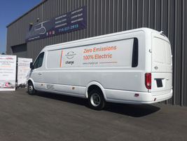 The company plans to produce a Class 4 and Class 6 van in future years in cargo and passenger...