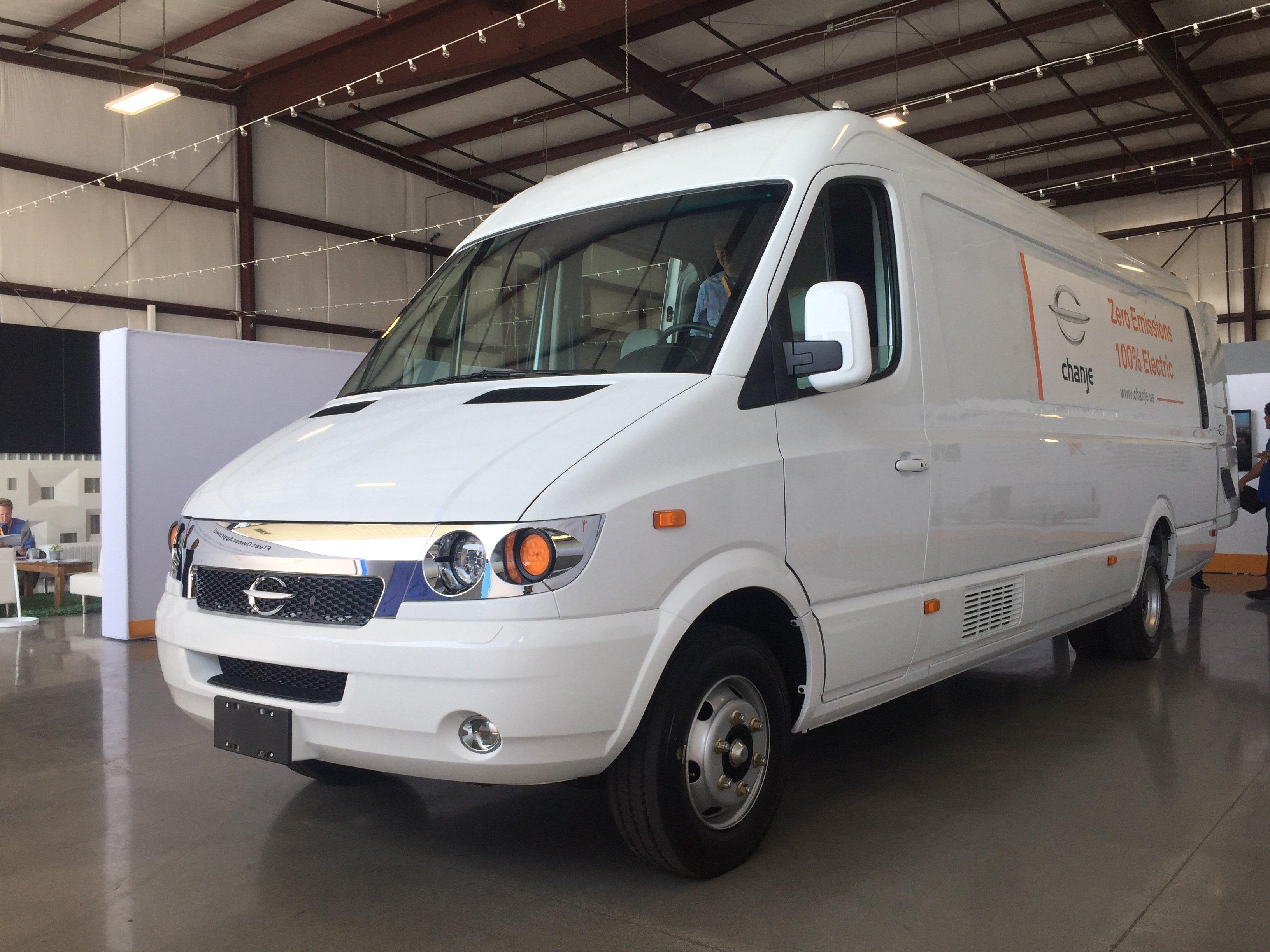 Chanje's Medium-Duty Electric Van