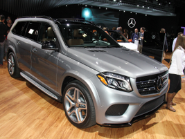 2017 Mercedes-Benz GLS550 4Matic