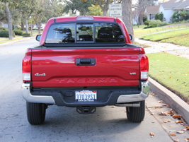 Fleets typically opt for the Tacoma SR or SR5.