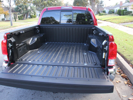 The Tacoma is available with a standard (5-foot) or long (6-foot-1-inch) bed.