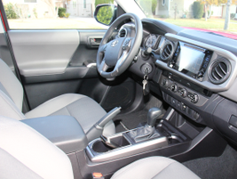 The 2016 Tacoma includes interior updates to modernize the truck and make it quieter.