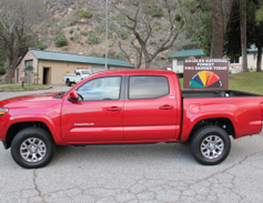 2016 Tacoma Double Cab SR5 4x4 in fire-engine red