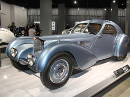 The 1936 Bugatti Type 57SC Atlantic paid homage to aviation engineering.