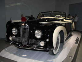 The 1953 Delahaye Type 178 was powered by a triple-carburetor, six-cylidner engine mated to a...