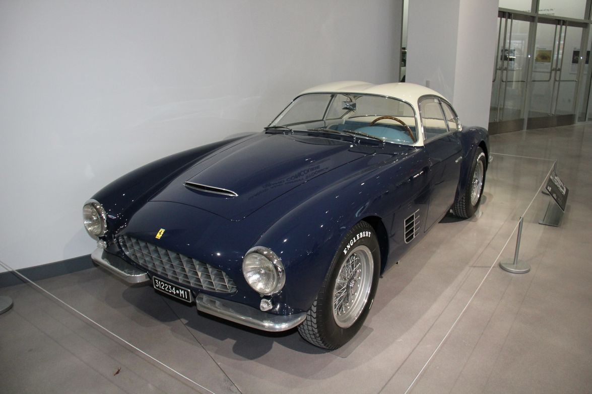 The 1956 Ferrari 250GT Berlinetta used aluminum to reduce body weight.
