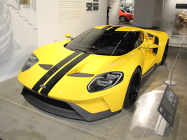 This 2017 Ford GT is the successor to the GT40 race car from the 1960s.