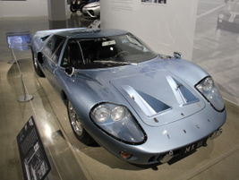 This 1967 Ford GT40 Mark III could reach a top speed of 165 mph. It was the road-going version...