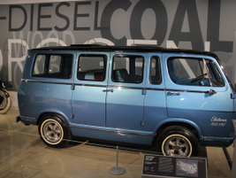 The 1966 General Motors Electrovan was the first hydrogen fuel cell vehicle ever produced. It...