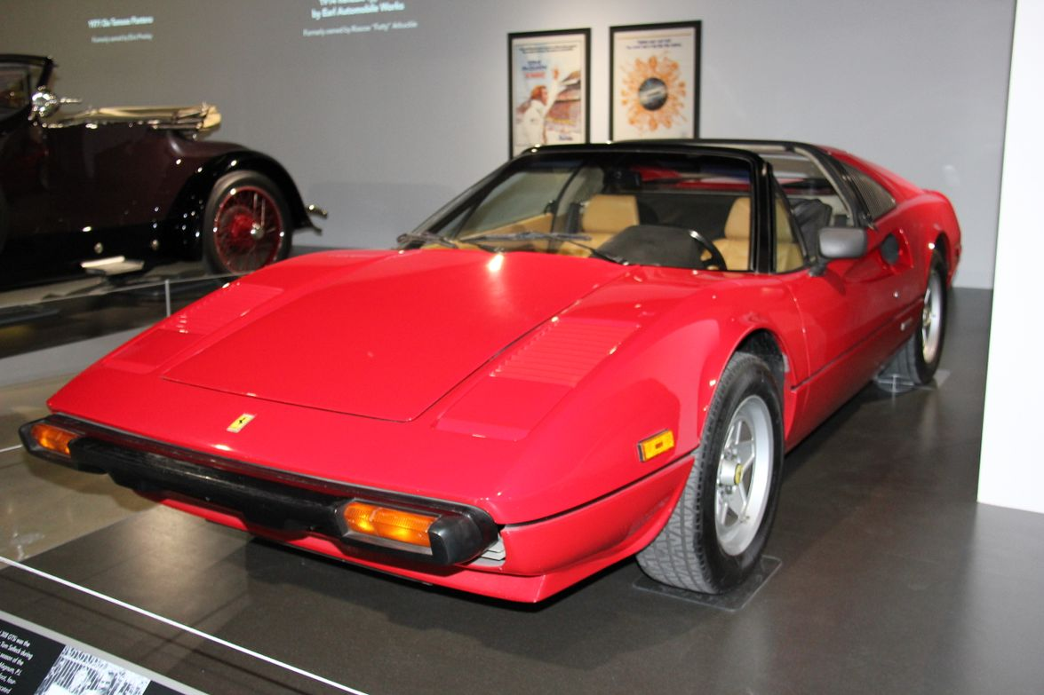 """This 1982 Ferrari 308 GTSi was featured in the 1980s television show """"Magnum, P.I."""""""