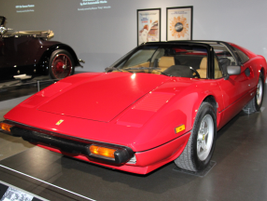 "This 1982 Ferrari 308 GTSi was featured in the 1980s television show ""Magnum, P.I."""