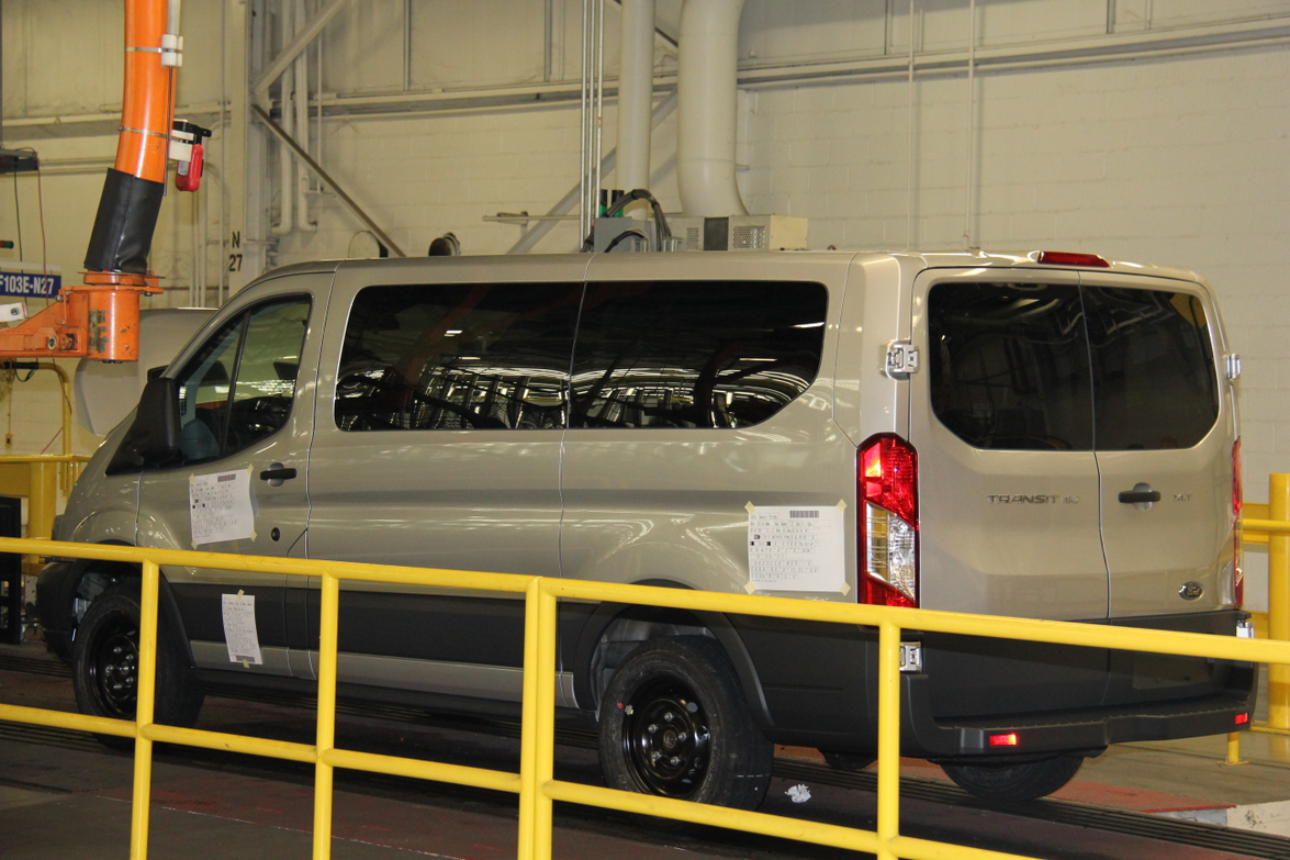 Ford builds 58 basic configurations and more than 2,000 different versions of its Ford Transit van.