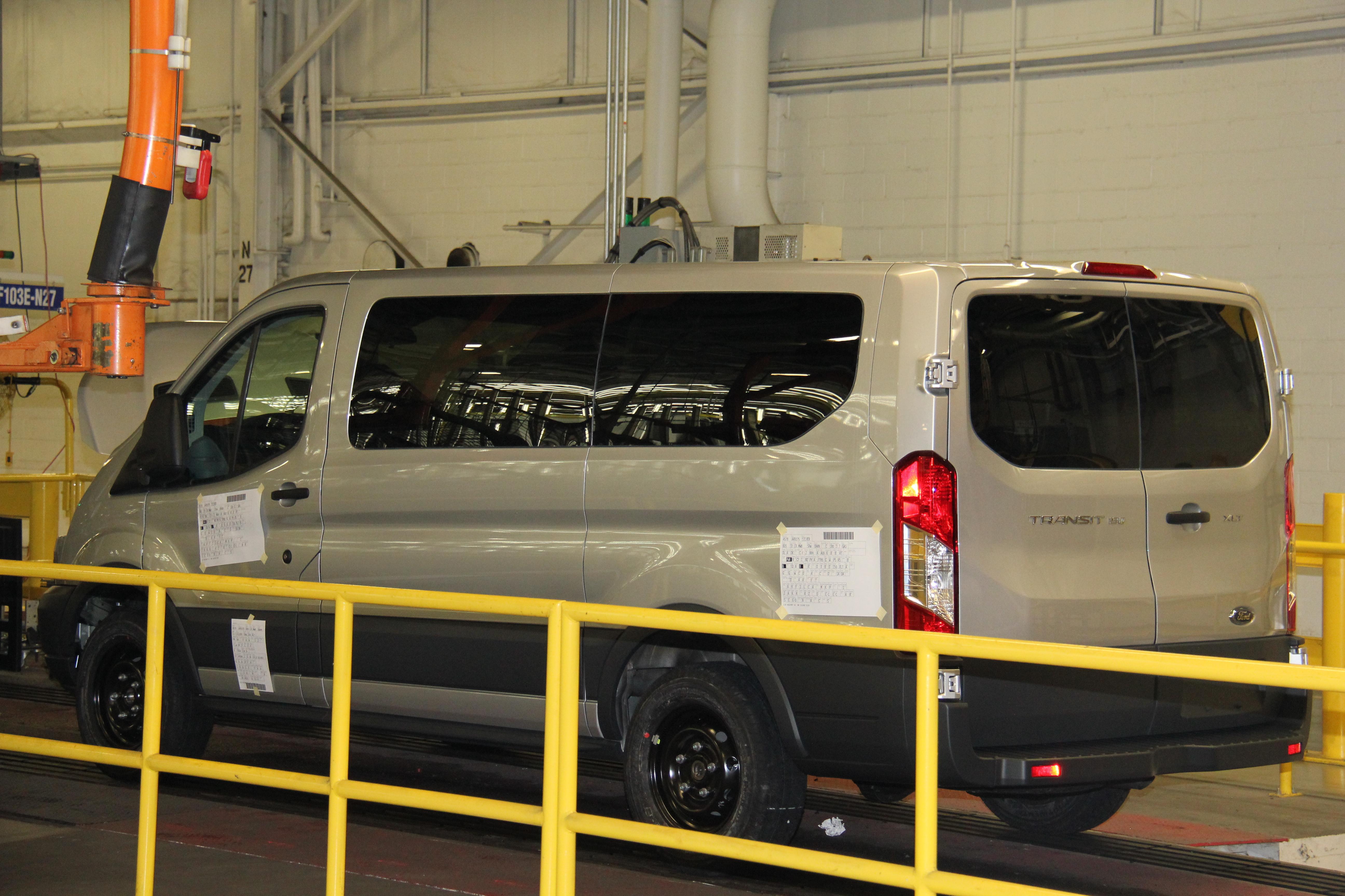 Assembling Ford's Transit Van