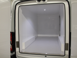 Knapheide added this refridgerated body for a food delivery fleet.