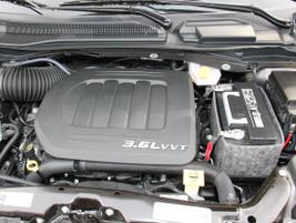 A 3.6L V-6 powers the SXT model.