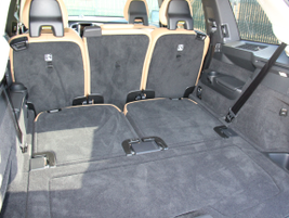 The XC90 offers 41.8 cubic feet behind the second row.