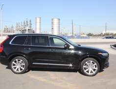The XC90 measures 194.8 inches in length and would compete with the BMW X5 or Audi A5.