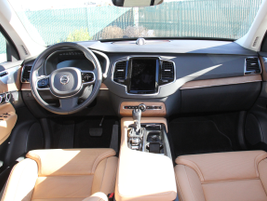 The XC90 uses Nappa leather and other high-quality materials in the cabin.