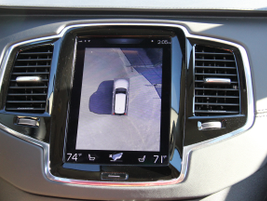 A 360-degree view feature provides additional peace of mind during backing maneuvers.