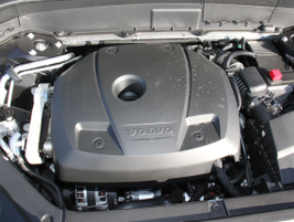 The 2.0L four-cylinder engine is turbocharged and supercharged.