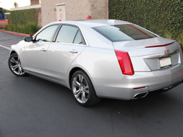 The CTS V-Sport's electronic Limited-Slip Differential uses sensors and driver inputs to...