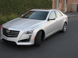 The CTS V-Sport uses a feature known as Magnetic Ride Control that instantaneously adjusts the...