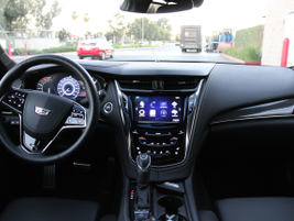 The car includes a 12.3-inch customizable display between the gauges and an 8-inch display for...