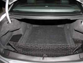 The CTS V-Sport provides 13.7 cubic feet of trunk space.