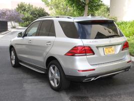 The GLE-Class has a 114.8-inch wheelbase.