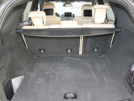 With rear seats in place, the GLE offers 38.2 cubic feet of cargo space.