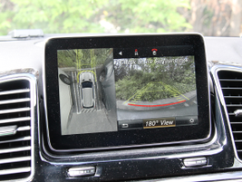 The Surround View camera system is available with the Parking Assist package.