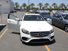 Fleet managers get a test drive in a 2017 E-Class.