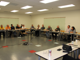 More than 30 attendees were present for the final 2015 Pacific Northwest NAFA Chapter meeting.