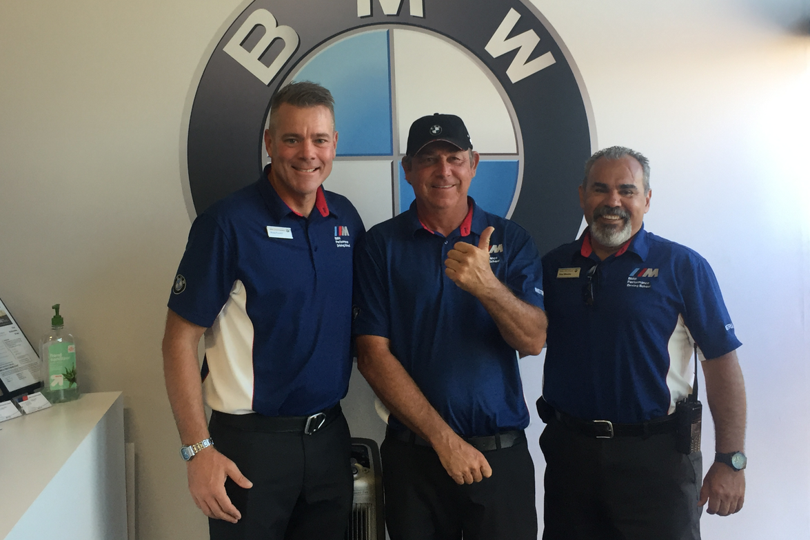 In addition to managing the various racing competitions, the driving instructors at the BMW...